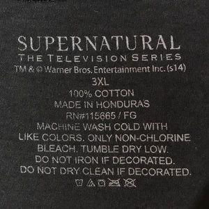 Supernatural Tops - Supernatural Tee    Size 3XL